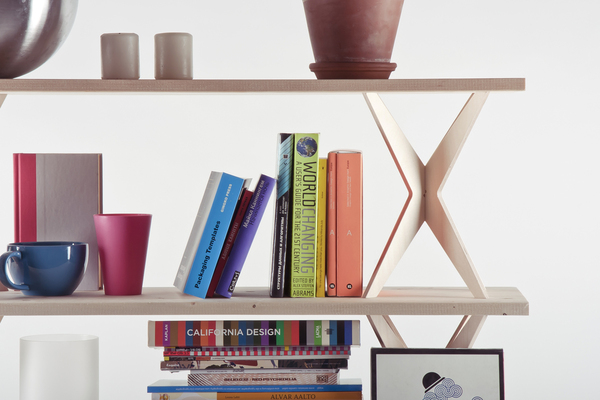 Shoebox Dwelling Shelves