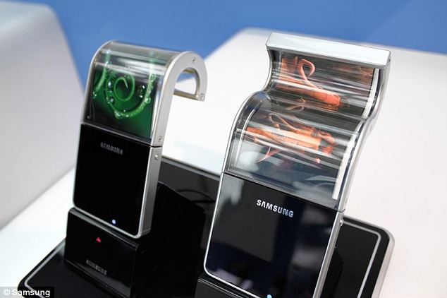 Samsung bendy screens