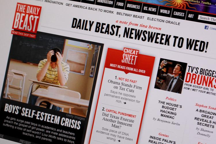 Daily Beast Eats Newsweek
